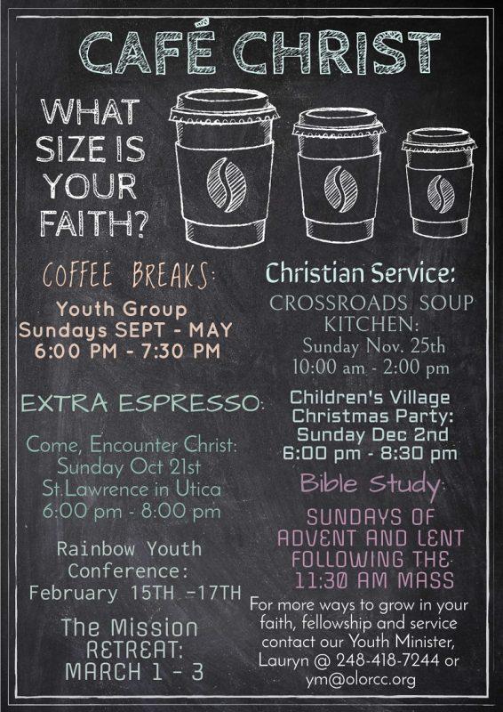 Cafe Christ 101518