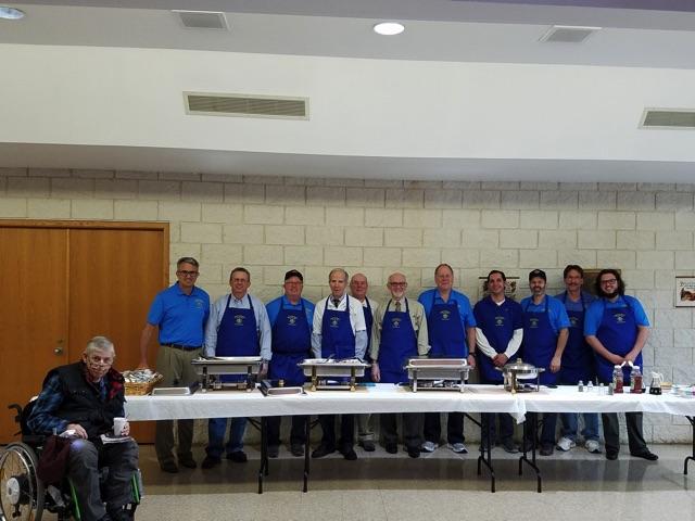 KofC Pancake Breakfast Crew 2019