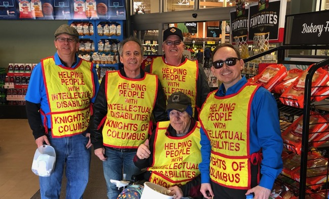 KofC Tootsie Roll Drive March 2019