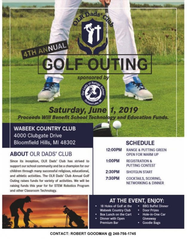 OLR Dads Club Golf Outing 2019